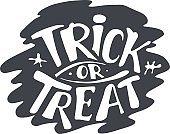 Happy Halloween Calligraphy backgrounds. Vector Halloween banner signs. Halloween lettering