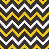Seamless geometric pattern with Zig zag stripes.