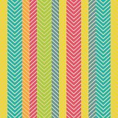 Seamless vector geometric pattern with stripes