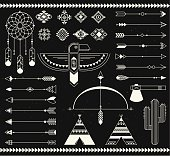 Tribal native american indian element.