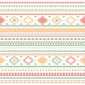 Seamless vector tribal texture