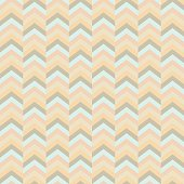 Seamless vector geometric retro pattern. Color stripes background