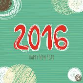 New Year doodle collection, hand drawn new year elements.