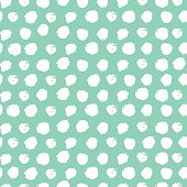 Seamless pattern with dot.