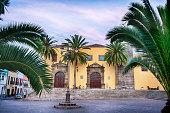 Garachico town central square