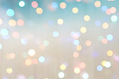 colorful abstract background blur motion with bokeh light