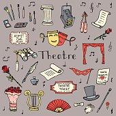Theatre set_color