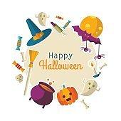 Happy Halloween backgraund