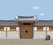 Traditional Korean style house