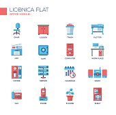 Liconica flat icon set