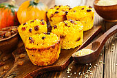 Cakes with  millet