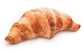 single french croissant