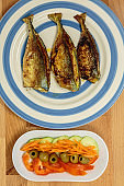 Stuffed Mackerel - Goan/Portuguese style