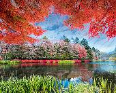 beautiful karuizawa during the fall season, Japan