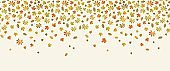 Autumn background with leaf fall