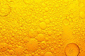 abstract oil bubble texture, pattern, background