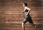 Male runner