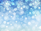 New year background blue