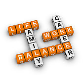 Life Work Balance Crossword Puzzle.
