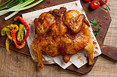 Roasted chicken Tabak