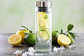 Infused detox water
