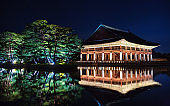 Gyeonghoeru at Gyeongbokgung Palace in Seoul, Korea