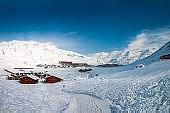 Winter in Tignes