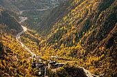 Main highway in Andorra