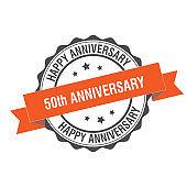 50th anniversary stamp illustration