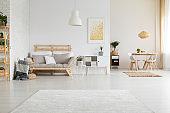 Stylish hygge living room