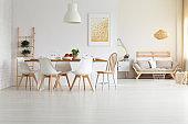 White, modern home design