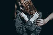Fearful rape victim