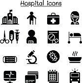 Hospital & medical icons
