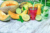 Healthy and refreshing beverages-drinks