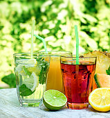 Healthy and refreshing beverages (drinks)