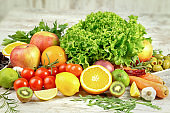 Your health depends on proper nutrition - fruit and vegetable