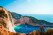 Amazing Navagio Beach
