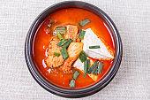 Kimchi stew - Kimchi jjigae