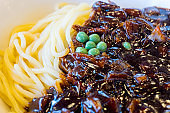 Black bean noodle - jajangmyeon