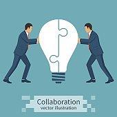 Collaboration concept idea