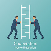 Teamwork concept business people