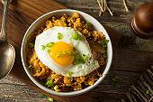 Homemade Korean Kimchi Fried Rice