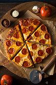 Cheap Greasy Frozen Pepperoni Pizza