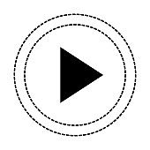 play button isolated icon