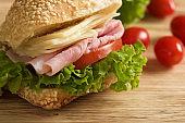 sandwich ham and cheese