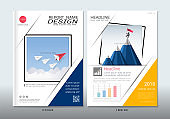 Covers design with space for photo background, Can be adapt to annual report, brochure, flyer, leaflet, fact sheet, sale kit, catalog, magazine, booklet, portfolio, poster, Vector template in A4 size.