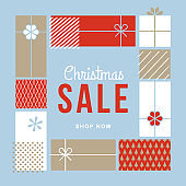 Christmas design for advertising, banners, leaflets and flyers.
