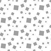 Light gray geometric seamless pattern