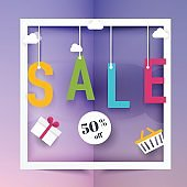 Sale banners design, discounts and special offer.