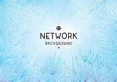 Network abstract background